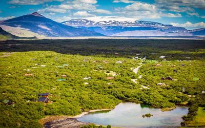 Island – vatra i led