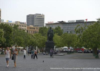 Goethe Platz Frankfurt