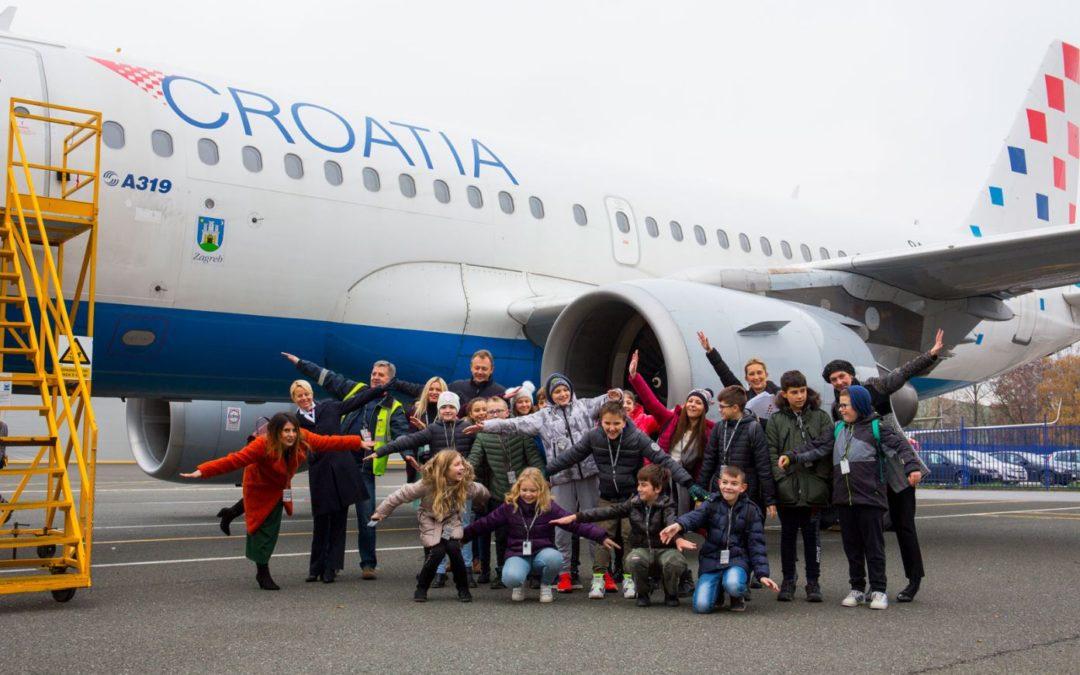 Croatia Airlines nagradio učeničku kreativnost