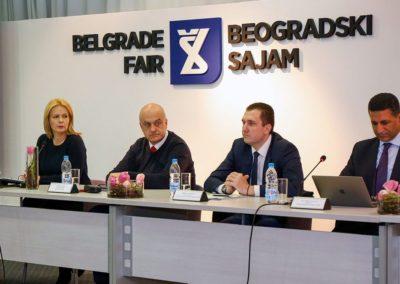 Beogradski sajam turizma - Press konferencija