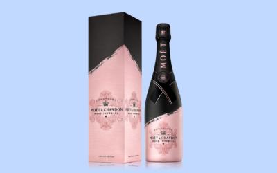 Povodom Valentinova u Miva galerije vina stiže limited edition boca Moët & Chandon Rosé
