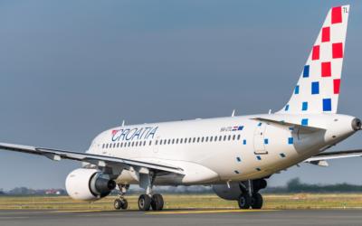 Croatia Airlines kontinuirano smanjuje planirani opseg letenja