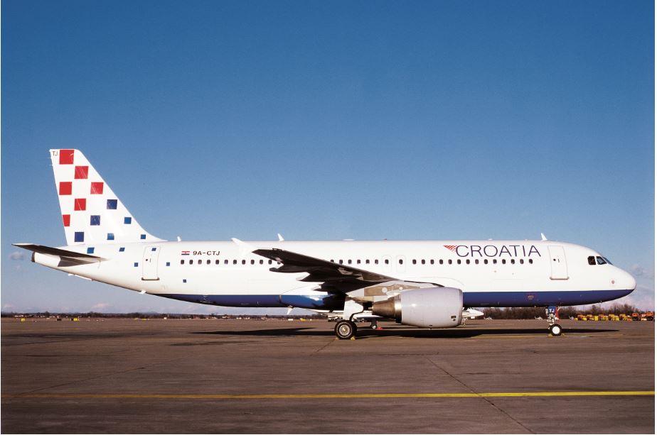 Croatia Airlines ponovo leti iz Zagreba u Split i Dubrovnik
