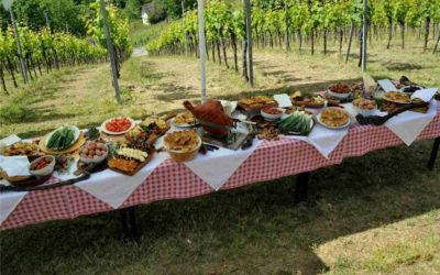 Održan je prvi hrvatski PJENUŠAVI DORUČAK u vinogradu