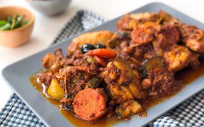 Curry ili marokanska piletina?