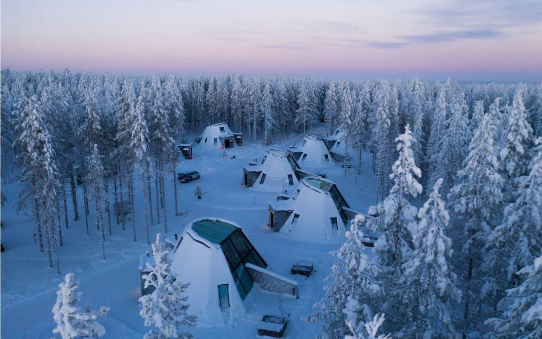 Glass Resort, staklena zimska bajka u Finskoj