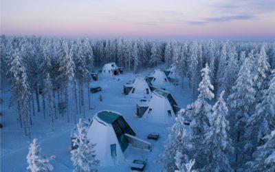 Staklena zimska bajka u Finskoj