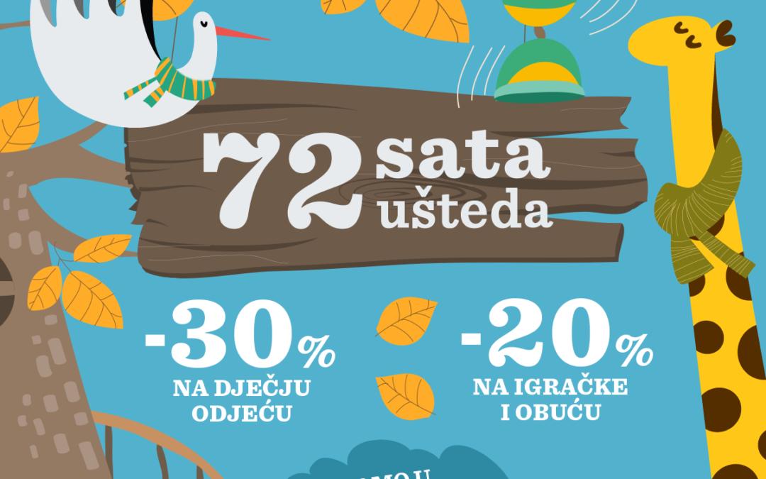 Babycenter.hr poziva na 72 sata ušteda!