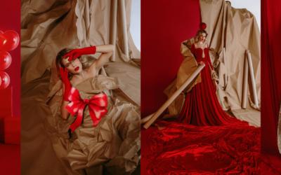 Blagdanska modna priča RED DELIGHTS by BOUDOIR
