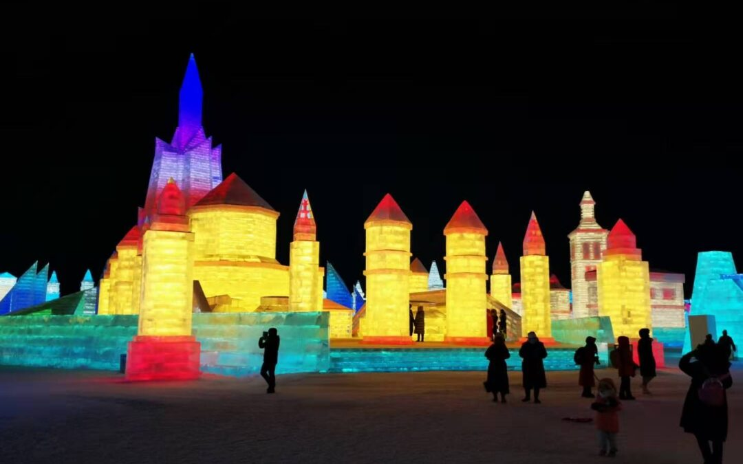 Dioklecijanova palača na Festivalu snijega i leda u Kini