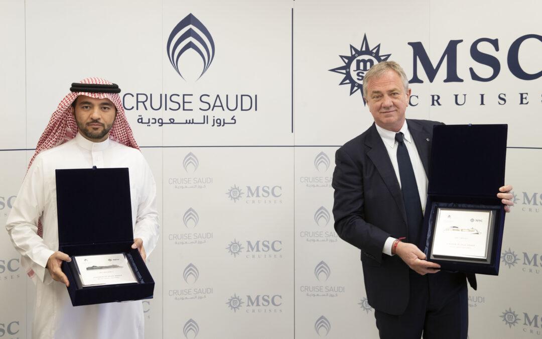 MSC Cruises i Cruise Saudi potpisali sporazum o krstarenju