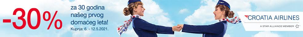 Croatia Airlines Banner