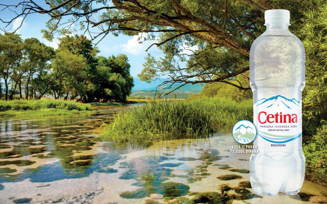 Cetina – voda iz Parka prirode Dinara
