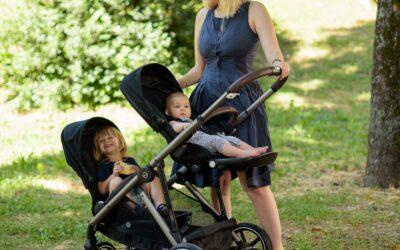 Život s dvoje djece uz Cybex Gazelle S kolica