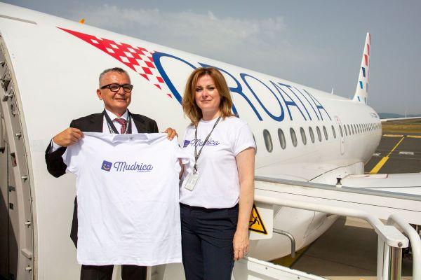 """Croatia Airlines novi je partner e-Dječje kartice """"Mudrica"""""""